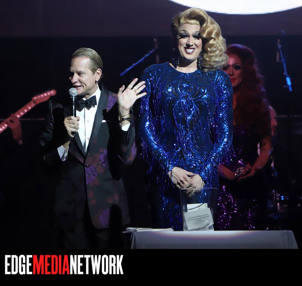 Carson Kressley hosting Miss'd America